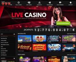 Casino légal belge Casino777 fiable