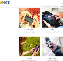 Logiciel International Game Technology ou IGT