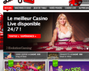 Lucky31, casino avec croupiers en direct