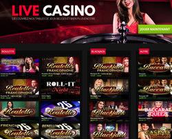 Roulette et Blackjack du casino de Spa sur Casino777
