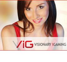 Visionary Igaming: logiciel pour casino avec croupiers en direct