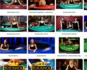 Bonus Cresus Casino sont valables sur les tables en live