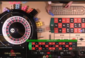 Dragonara Roulette meilleure table de roulette en ligne