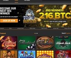 Gros gain sur la machine à sous Play'n GO du casino bitcoin Cloudbet