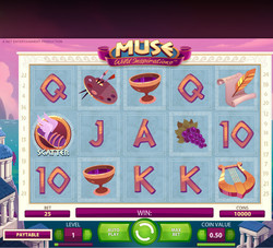 Machine à sous Muse gratuit dans NetEnt casino