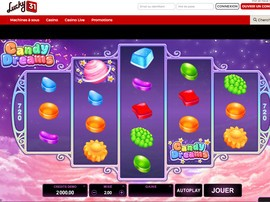 Machines a sous Microgaming sur Lucky31 Casino