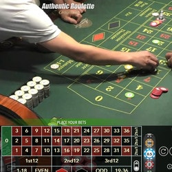 Authentic Roulette Original du Casino Saint-Vincent