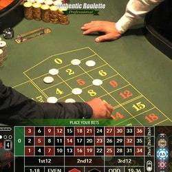 Authentic Roulette Professional du Casino Saint-Vincent