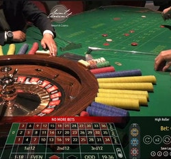 Authentic Roulette Superieur du Casino Saint-Vincent