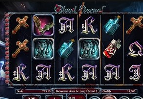 Machine a sous Blood Eternal sur Avis Casino