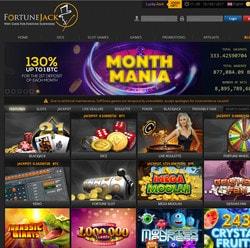 Avis sur FortuneJack Casino