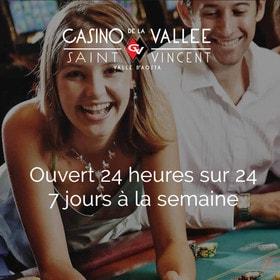 Casino de la Vallée ou Casino Saint-Vincent d'Italie