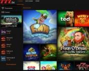 Machines à sous gratuites sur Casino777 multi logiciels