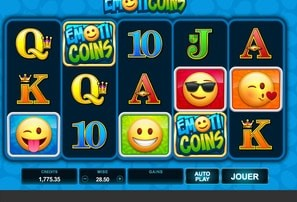 Machine à sous EmotiCoins de Microgaming