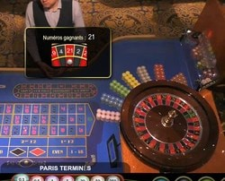 Roulette en ligne Ezugi du Royal Casino de Riga