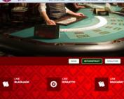 Tables avec croupiers en direct Live BetConstruct sur Magical Spin Casino
