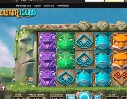 Machine à sous Easter Island disponible sur Casino Extra