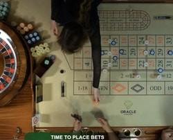 Trois live roulettes en direct de casinos de Malte
