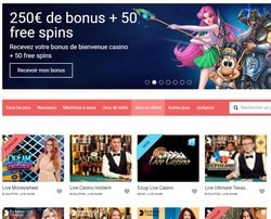 Jeux en live Evolution Gaming sur Stakes Casino