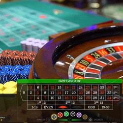 Roulettes en live de MrXbet Casino en direct de 5 casinos