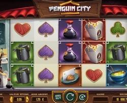 Machine a sous Pinguin City sur Dublinbet