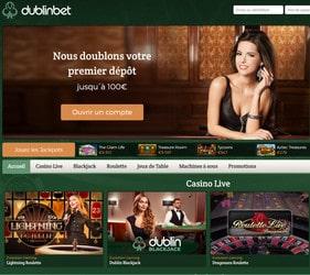 Dublinbet mobile, casino Android et iOS