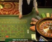 Live roulette en direct du palace Casino de Bucarest