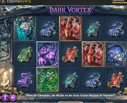 Machine a sous Dark Vortex sur Casino Extra