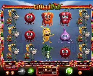 Machine à sous Chilipop gratuite et sans téléchargement