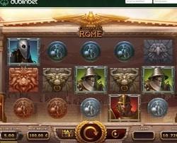 Le casino en ligne Dublinbet intègre la machine à sous Champions of Rome