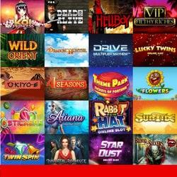 easyBet intègre les Jeux online de 12 logiciels