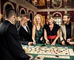Salle de roulette du Bad Homburg casino en Allemagne