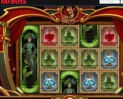 La machine à sous Dr Fortuno du logiciel Yggdrasil disponible sur FatBoss Casino