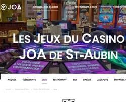 10 machines a sous du Joa Casino de St-Aubin détruites sous haute sécurité