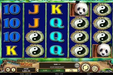 Sélection casinos en ligne proposant la machine à sous Bamboo Rush de Betsoft