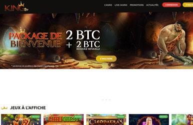 Revue et avis sur le casino bitcoin KingBit