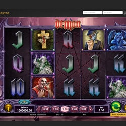 Machine a sous Demon sur Casino Extra