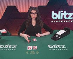 Blackjack Blitz de Netent Live sur Lucky31