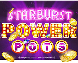 Netent Starburst Powers Pots
