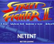 La machine à sous Street Fighter II de Netent