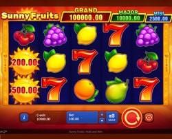 Machine à sous Sunny Fruits de Playson