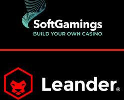Leander Games et SoftGamings