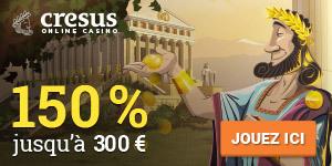 Cresus dans le top 3 Avis casino