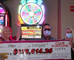 Jackpot progressif près de Las Vegas