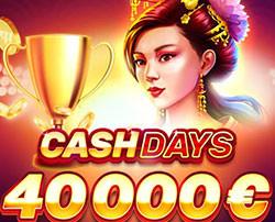Tournoi Playson Cash Days sur Cresus Casino