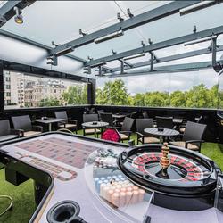 Roulette di Park Lane Club di Mayfair di London