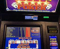 Jackpot au video poker à Las Vegas