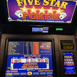 Jackpot video poker di Las Vegas