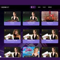 CasinoBit le Live kasino bitcoin par excellence