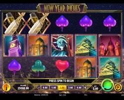 Machine à sous New Year Riches de Play'n Go sur Magical Spin